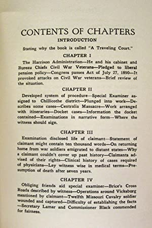 A TRAVELING COURT, BASED ON INVESTIGATION OF WAR CLAIMS (VOLUME VIII): Britton, Wiley