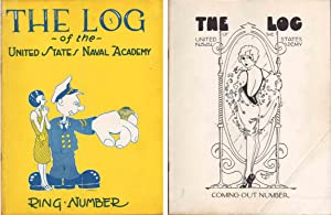 THE LOG OF THE UNITED STATES NAVAL ACAMEMY (3 ISSUES): Various Contributors