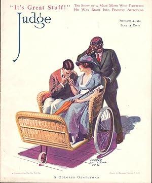 JUDGE MAGAZINE (SEPTEMBER 4, 1920): Various Contributors