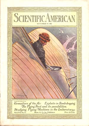 SCIENTIFIC AMERICAN (SEPTEMBER 14, 1912) The Weekly Journal of Practical Information: Various ...