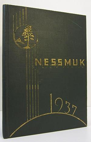 WELLSBORO JUNIOR & SENIOR HIGH SCHOOL, THE 1937 NESSMUK, WELLSBORO PENNSYLVANIA, CLASS OF 1937:...