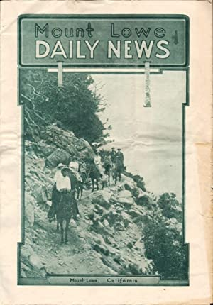 MOUNT LOWE CALIFORNIA, DAILY NEWS: Various Contributors