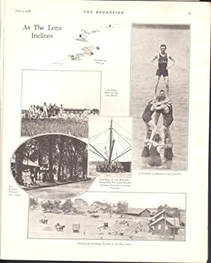 THE BROADSIDE, A JOURNAL FOR THE NAVAL RESERVE FORCE (JULY 5, 1918): Various Contributors
