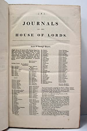 JOURNAL OF THE HOUSE OF LORDS (1828, VOLUME 60) Beginning Anno Nono Georgii Quarti, 1828: House Of ...