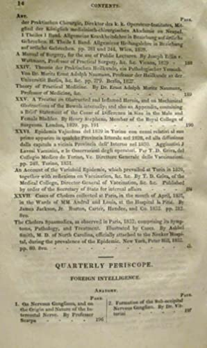 THE AMERICAN JOURNAL OF THE MEDICAL SCIENCE (1832, NO. XXL, VOLUME XI ): Various Contirbutors
