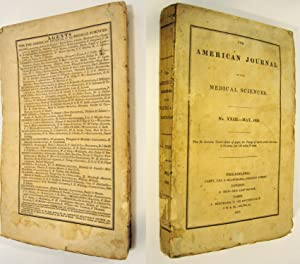 THE AMERICAN JOURNAL OF THE MEDICAL SCIENCES (MAY 1833, NO.XXIII, VOLUME XII): Various Contirbutors