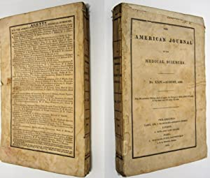 AMERICAN JOURNAL OF THE MEDICAL SCIENCES AUGUST, 1833, NO. XXIV: Various Contributors