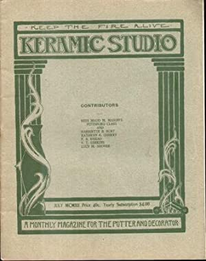 KERAMIC STUDIO (JULY 1912) VOL. XIV, NO.3 Monthly Magazine for the Potter and Decorator: ...