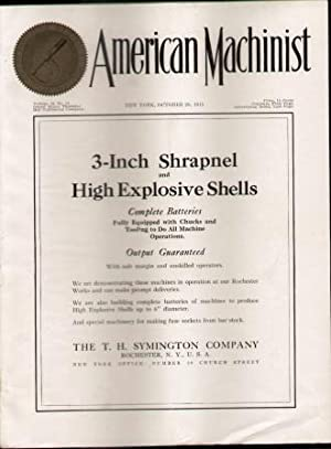 AMERICAN MACHINIST (VOL. 43. NO. 18): Alford, L. P. editor