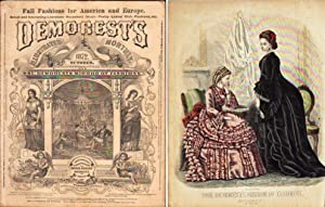 DEMOREST'S ILLUSTRATED MONTHLY MAGAZINE OCTOBER 1872 Mme.: Demorest, Jennings W.