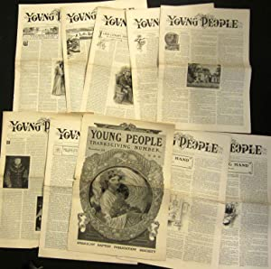 YOUNG PEOPLE 37 ISSUES, 1906: Various Contributors