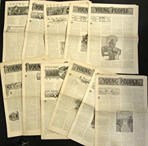 YOUNG PEOPLE, 35 ISSUES, 1907: Various Contributors