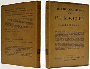 THE CHEMICAL STUDIES OF P. J. MACQUER: Coleby, L. J. M.