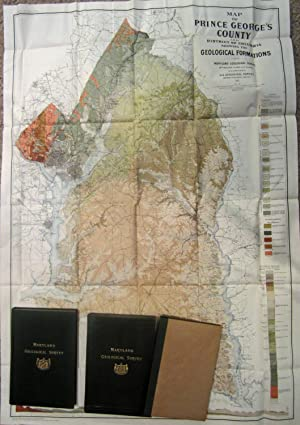 MARYLAND GEOLOGICAL SURVEY (1911) INCLUDES TEXT PLUS ATLAS Prince George's County