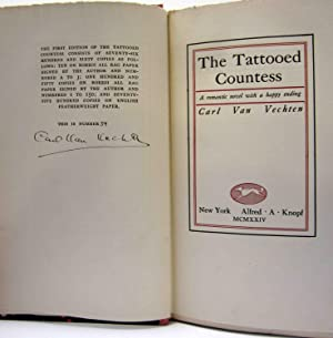 THE TATTOOED COUNTESS, A ROMANTIC NOVEL WITH A HAPPY ENDING (IN SLIP CASE): Van Vechten, Carl