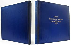 TWENTY-EIGHTH ANNUAL LIST OF MERCHANT VESSELS OF THE UNITED STATES,WITH THE OFFICIAL NUMBERS AND ...