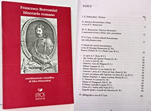ITINERARIO ROMANO, COORDINAMENTO DI ELISA DEBENEDETTI: Borromini, Francesco