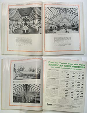 AMERICAN GREENHOUSES A BOOK OF CONSERVATORIES, SHOW HOUSES, PALM HOUSES & SOLARIUMS: Am. ...