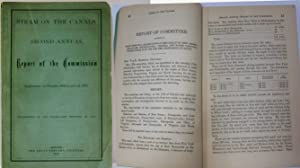 STEAM ON THE CANAL, SECOND ANNUAL REPORT OF THE COMMISSION APPOINTED BY CHAPTER 868, LAWS OF 1871. ...