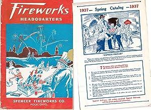 FIREWORKS HEADQUARTERS CATALOGUE: Spencer Fireworks Company
