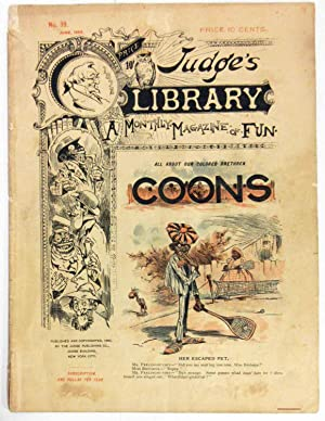 JUDGES LIBRARY, ALL ABOUT OUR COLORED BRETHREN COONS: Various Contirbutors