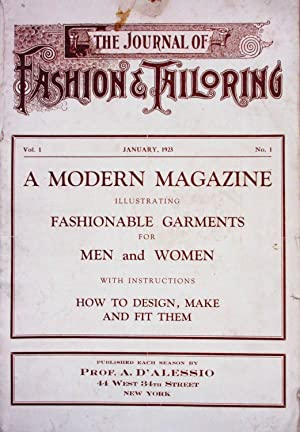 THE JOURNAL OF FASHION TAILORING. A MODERN: D'Alessio, Agostino
