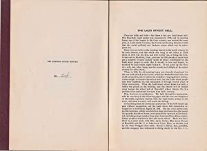 """AUTOBIOGRAPHY OF A BELL : CENTENNIAL CELEBRATION OF THE LADD STREET BELL"""", HAVERHILL, N. H. , ..."""