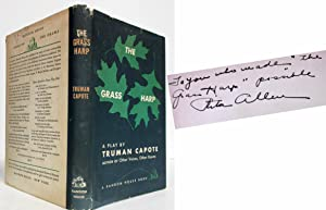 THE GRASS HARP A PLAY BY TRUMAN: Capote, Truman