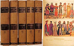 GESCHICHTE DES KOSTUMS (5 VOLUMES) Text by Prof. Dr. Eduard Heyck: 32