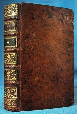 OEUVRES DE MONSIEUR DE MONESQUIEU TOME QUATRIEME: Montesquieu