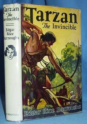 TARZAN THE INVINCIBLE: Burroughs, Edgar Rice