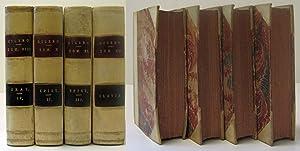 M. TULLII CICERONIS ( 4 VOLUMES): Cicero, Marcus Tullios