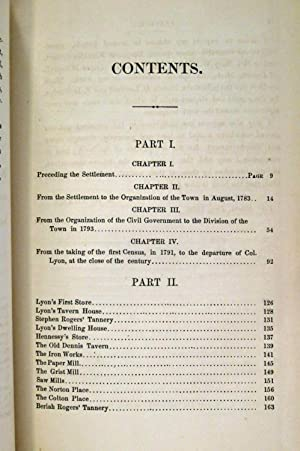 A HISTORY OF THE TOWN OF FAIR HAVEN VERMONT (INSCRIBED COPY): Adams, Andrew N.