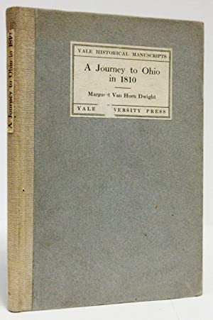 A JOURNEY TO OHIO IN 1810 (1912): Farrand, Max, editor