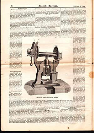 SCIENTIFIC AMERICAN (VOL. LI, NO. 6) AUGUST 9, 1884 A Weekly Journal of Practical Information, Art,...