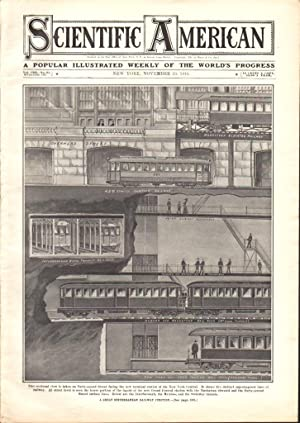 SCIENTIFIC AMERICAN (NOVEMBER 19, 1910) VOL. CIII, NO. 21 Popular Illustrated Weekly of the World&#...