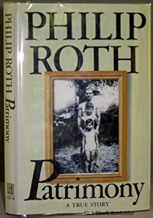 PATRIMONY A TRUE STORY (SIGNED COPY): Roth, Philip