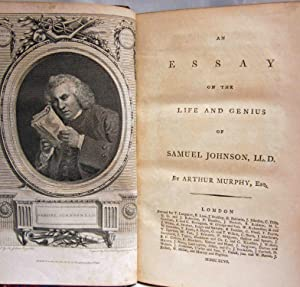 THE WORKS OF SAMUEL JOHNSON, LL. D. TO WHICH IS PREFIXED AN ESSAY ON HIS LIFE AND GENIUS (12 ...
