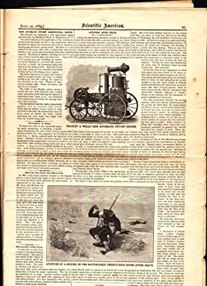 SCIENTIFIC AMERICAN (VOL. LI, NO.2) JULY 12, 1884 A Weekly Journal of Practical Information, Art, ...