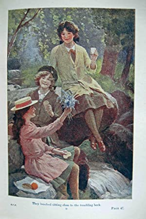 A SCHOOL CAMP FIRE (1917): Oxenham, Jeanette Elsie
