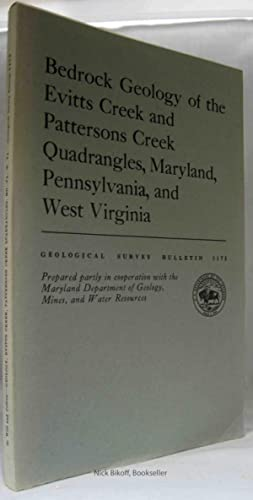 BEDROCK GEOLOGY OF THE EVITTS CREEK AND PATTERSONS CREEK QUADRANGLES, MARYLAND, PENNSYLVANIA AND ...