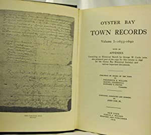 OYSTER BAY TOWN RECORDS Long Island, New York: Cox, John Jr. 15051