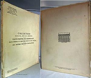 COLLECTION DE FEU M. ANT. W. M. MENSING EAUX-FORTES DE REMBRANDT EAUX- FORTES ET GRAVURES DES XV - ...