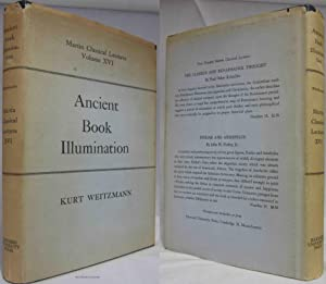 ANCIENT BOOK ILLUMINATION (1959) Martin Classical Lectures Volume XVI: Weitzmann, Kurt