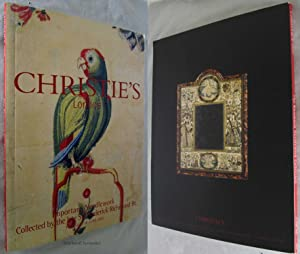 IMPORTANT NEEDLEWORK COLLECTED BY THE LATE SIR FREDERICK RICHMOND Thursday 13 June 2001: Christie's