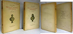 THEATRUM ANOTOMICO-CHIRURGICUM ( VOL. 1,1736 - 1744. VOL. 2, 1745 1785): Norrie, Gordon