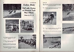 MOTORCYCLIST, NO. 529, OCTOBER 1941 Official Publication American Motorcycle Association: Billings,...