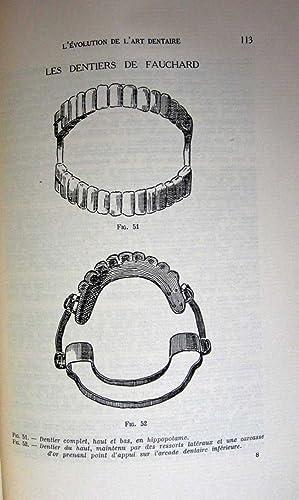 L'EVOLUTION DE L'ART DENTAIRE (SIGNED COPY): Boissier, Raymond Dr.
