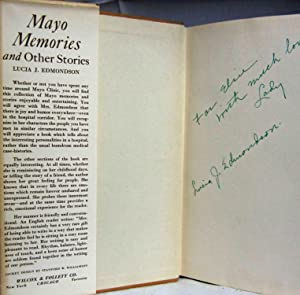 MAYO MEMORIES AND OTHER STORIES (AUTHOR INSCRIBED COPY): Galissa) Rafael Domenech & Luis Perez ...