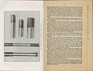THE MINING EXPERIMENT STATION. THE RIFLING OF DIAMOND DRILL CORES. FORMATION & DECOMPOSITION OF...